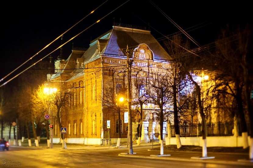 Здание городского музея во Владимире