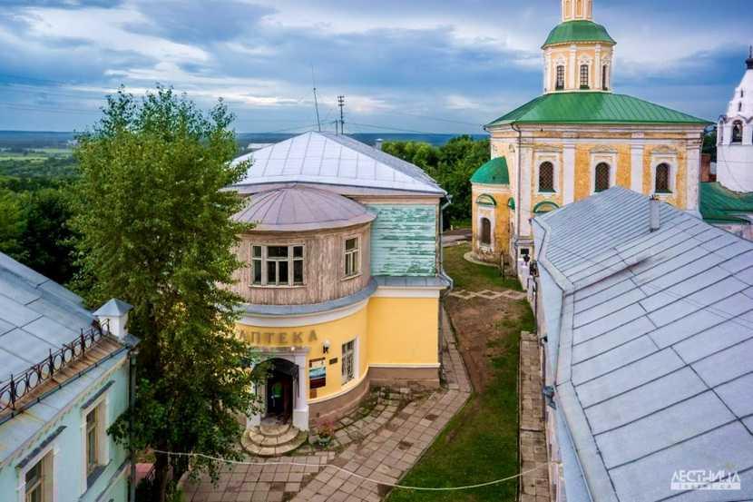 Старая аптека во Владимире
