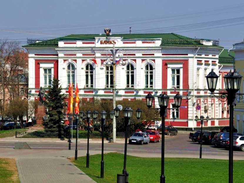 Здание банка во Владимире