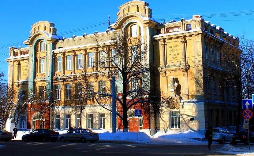 Реальное училище во Владимире