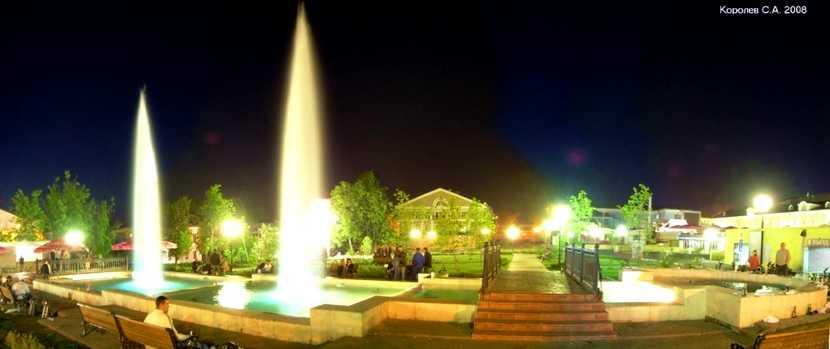 Комсомольский сквер во Владимире